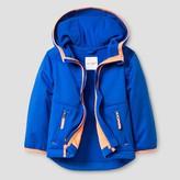 Cat & Jack Toddler Boys' Softshell Hooded Jacket Cat & Jack - Blue
