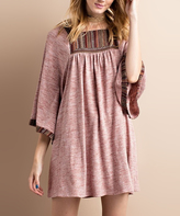 Jane Rust Melange Tunic Dress