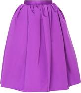 Rochas Tulip Skirt In Plain Duchesse