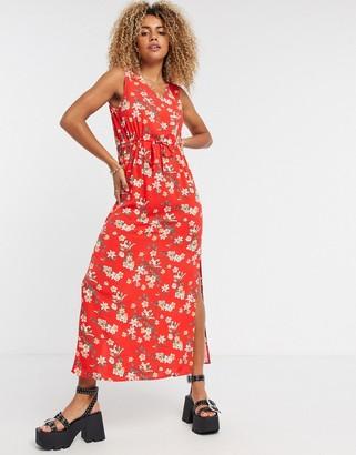 Vero Moda cami dress in berry
