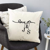Tillie Mint Loves Personalised Love Bird Cushion