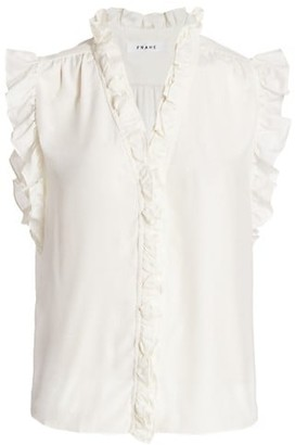 Frame Lauren Silk Top