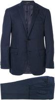 Corneliani tonal stripes two-piece suit - men - Virgin Wool/Cupro - 50