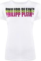 Philipp Plein embellished logo short sleeve T-shirt