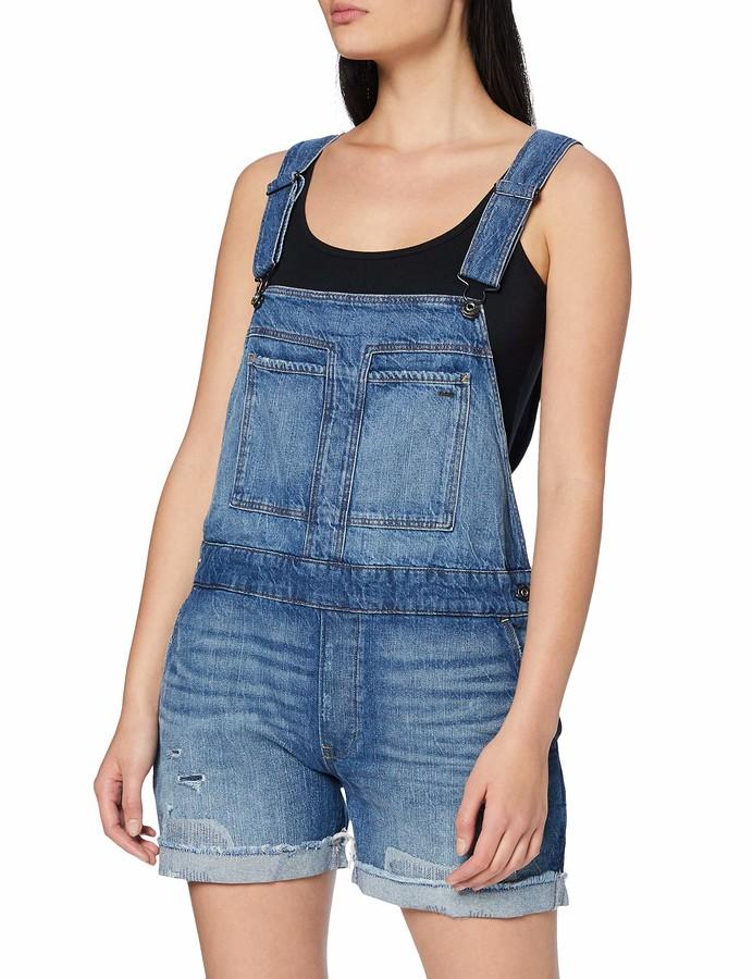 G-STAR RAW Damen Utility Strap Jumpsuit Wmn S//Less Jumpsuit