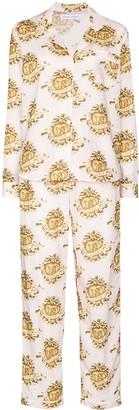 Desmond & Dempsey Eros heart-print pyjamas