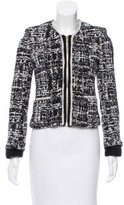 Sandro Textured Collarless Jacket
