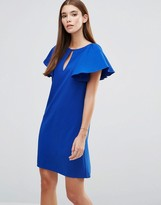 Paper Dolls Frill Sleeve Tunic Dress