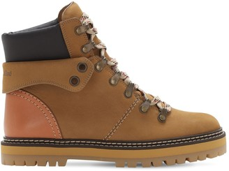 See by Chloe 20mm Leather Hiking Boots