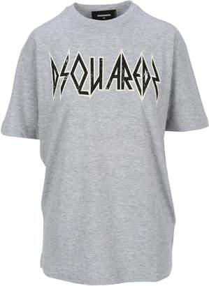 DSQUARED2 Rock Logo Printed T-shirt