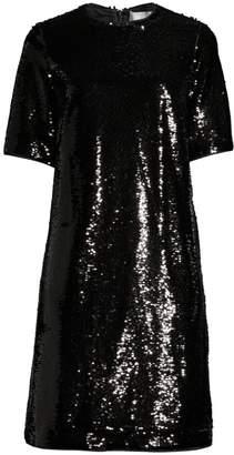 BOSS Dettia Sequin Shift Dress