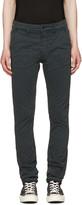 Nudie Jeans Black Slim Adam Trousers
