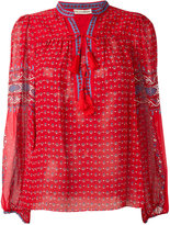 Ulla Johnson paisley print tassel detail blouse