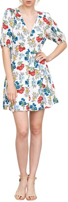 Yumi Kim Golden Hour Floral Mini Dress