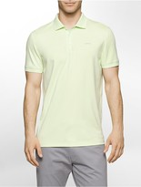 Calvin Klein Classic Fit Interlocked Jersey Polo Shirt