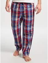 Polo Ralph Lauren Plaid Check Lounge Pants, Blue/red