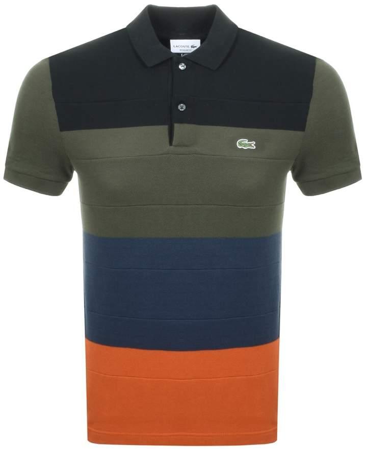 4b3610f5 Lacoste Color Block Polo - ShopStyle UK