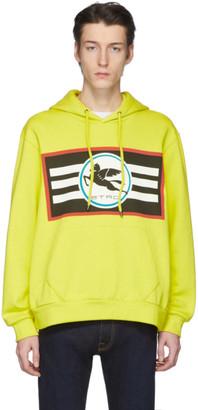 Etro Yellow Pegaso Hoodie