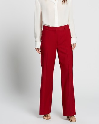 SABA Celeste Wool Wide Suit Pants