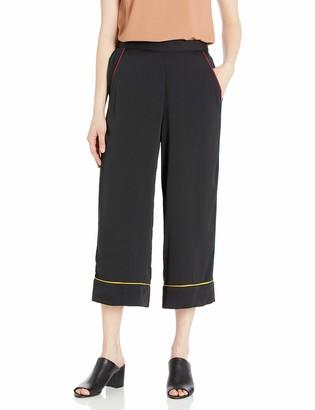 BCBGeneration Women's Pajama Piping Pant