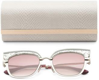 Made In Italy 51mm Cat Eye Designer Sunglasses