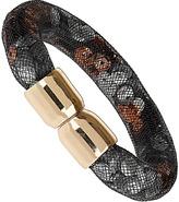 Topshop Sequin Trap Mesh Bracelet