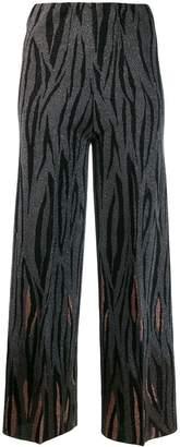 Circus Hotel jacquard flame trousers