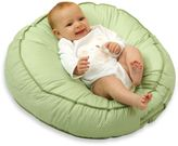 Leachco Podster® Sling-Style Infant Lounger in Green Pin Dot