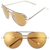 A. J. Morgan Women's A.j. Morgan Perfection 62Mm Sunglasses - Gold