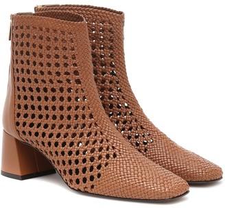 Souliers Martinez Exclusive to Mytheresa Nova Ibiza 50 leather ankle boots