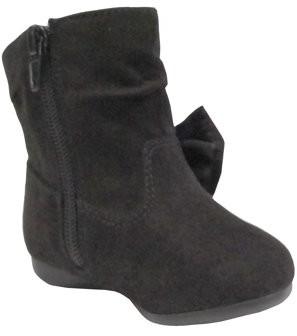 Wonder Nation Bow Slouch Boot (Infant Girls)