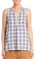Soft Joie Joie Carley B Plaid Top