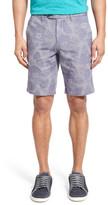 Ted Baker &Erupten& Print Stretch Cotton Shorts