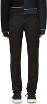 Christian Dada Black Signature Super Skinny Trousers