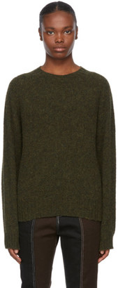 YMC Khaki Wool Jets Sweater