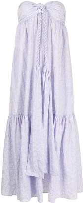 Mara Hoffman Basilia strapless dress