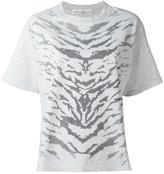 Golden Goose Deluxe Brand zebra print T-shirt