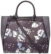 Dorothy Perkins Navy Floral Print Oversized Tote Bag