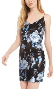 B. Darlin Juniors' Sequined Sheath Dress, Created for Macy's