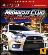 Sony Midnight Club Los Angeles - PS3