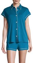 Cosabella Bella Cotton Cap Sleeve Pajama Set
