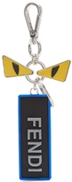 Fendi Bag Bugs logo-embossed rubber and metal key ring