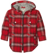 Hatley Plaid Flannel Hooded Jacket (Toddler/Little Kids/Big Kids)