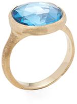 Marco Bicego Jaipur 18K Yellow Gold & Blue Topaz Ring