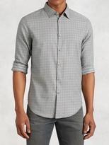 John Varvatos Houndstooth Shirt