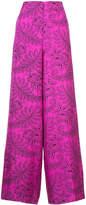Diane von Furstenberg Ullman print palazzo trousers