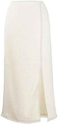 Nanushka Side Slit Skirt