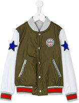 Diesel Jacyk bomber jacket - kids - Cotton/Polyamide/Polyester - 5 yrs