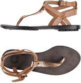 Buttero Toe strap sandals