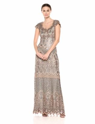 Tadashi Shoji Women's c/s Sequin lace Gown